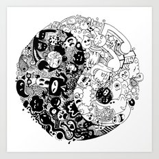 Sid-Sang Art Print