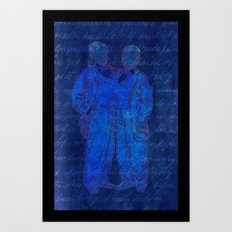 Chang and Eng Art Print