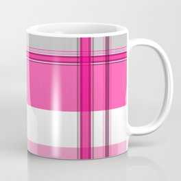 Shades of Pink and White II Coffee Mug