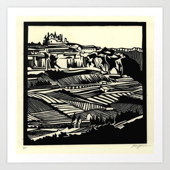 Linescape Art Print