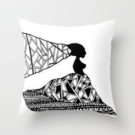 FEMELLE Throw Pillow