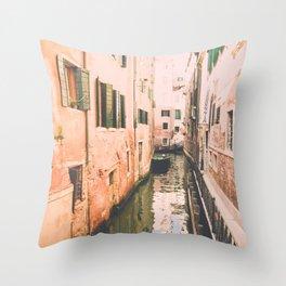 Venice II Throw Pillow