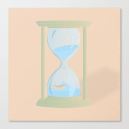 RUNNING OUT OF TIME Canvas Print