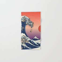 The Great Wave Hand & Bath Towel