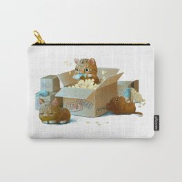 Happy kittens Carry-All Pouch