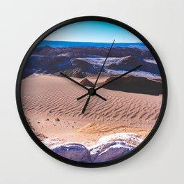 Valle de la Luna (Moon Valley) in San Pedro de Atacama, Chile Wall Clock