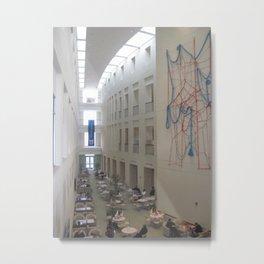 UMASS Boston Atrium Metal Print