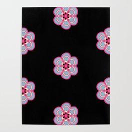 Midnight Flower Poster
