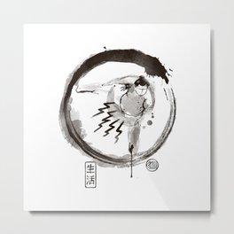 Sumo-E Metal Print