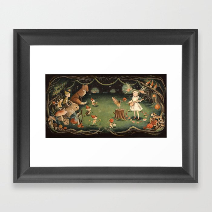 The Fairy Dream by Emily Winfield Martin Gerahmter Kunstdruck