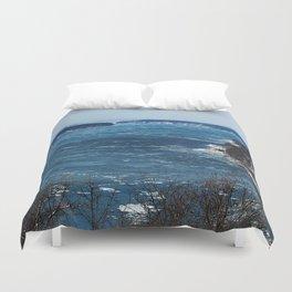 Endless Blue Duvet Cover