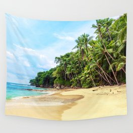 Tropical Beach - Landscape Nature Photography Wall Tapestry