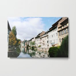 Houses of Strasbourg Metal Print