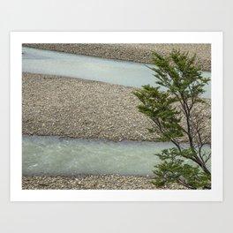 River Fases Art Print
