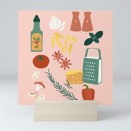 I Want Pasta Mini Art Print