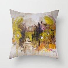 Mean Green Dual Action Minitiger Throw Pillow