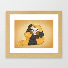 Cozy Barn Owl Framed Art Print