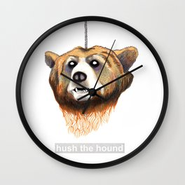 Decapitated Bear  Wall Clock