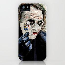 the Joker hahaha iPhone Case