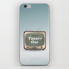 Quiz Show - Alternative Movie Poster iPhone Skin
