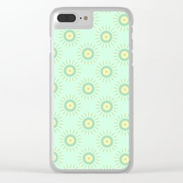 Sun Candy Clear iPhone Case