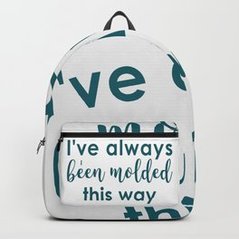 molded this way Backpack