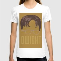 dwight schrute T-shirts featuring Dwight and you by Ally Simmons