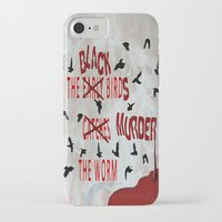 dramatical murder iPhone & iPod Cases featuring MURDER  -  021 by Lazy Bones Studios