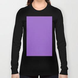 Amethyst Violet Long Sleeve T-shirt