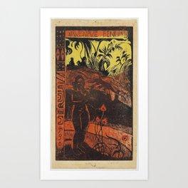 Paul Gauguin - Nave Nave Fenua from the Noa Noa Series (1894) Art Print