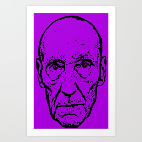 Outlaws of Literature (William S. Burroughs) Art Print