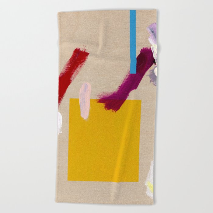 Untitled (Abstract Composition 3) Beach Towel