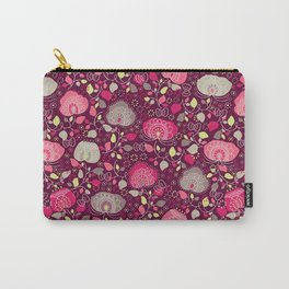 Fancy Floral Carry-All Pouch