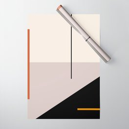 abstract minimal 28 Wrapping Paper