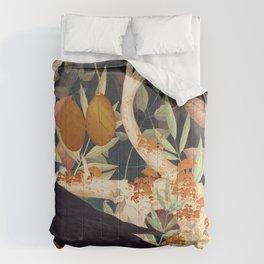 Nature Reclaiming Comforters