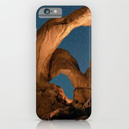 Double Arch Trail Area In Arches National Park iPhone Case