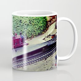 Model Railway. Coffee Mug