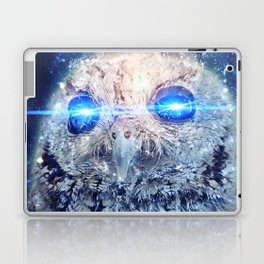 Owl with Lasers Laptop & iPad Skin