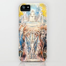 "William Blake ""The Day of Judgment"" iPhone Case"