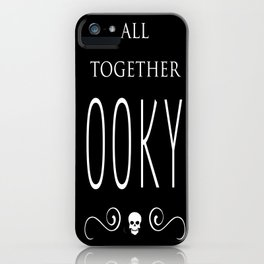 Mysterious and spooky... iPhone Case