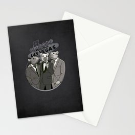 Rat Pack Stationery Cards