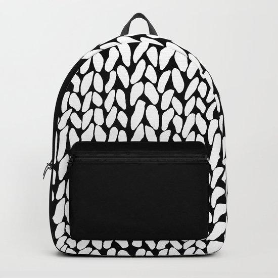 Half Knit Backpack