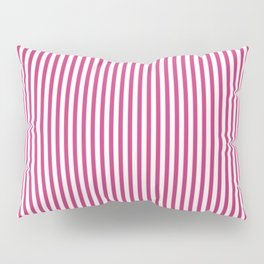 Pink Yarrow Stripes Pillow Sham