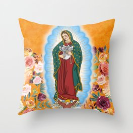 Blessed Be The Panhead Throw Pillow