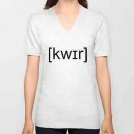 Queer T-shirt Unisex V-Neck