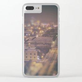 OKLAHOMA ICE NIGHT Clear iPhone Case