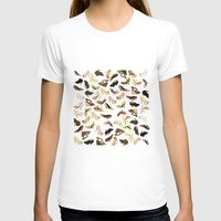 shoes T-shirts featuring Shoes by Jeanne Bornet