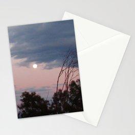 Moon Glow Sky Stationery Cards