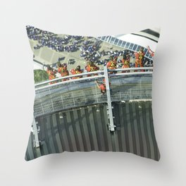 Thrill seekers Throw Pillow