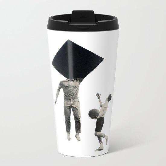 Block Metal Travel Mug
